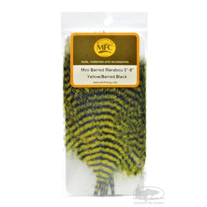 Montana Fly Company Mini Barred Marabou - Pacific Fly Fishers