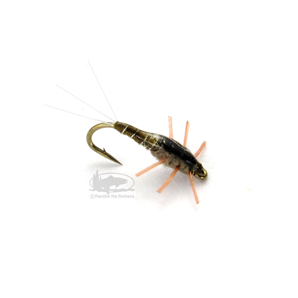 Micro Matcher - Olive - BWO Baetis Nymphs - Fly Fishing Flies