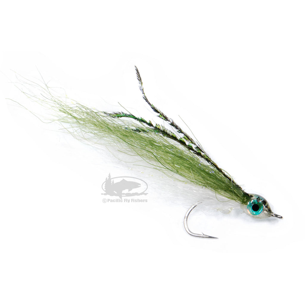 Mini-Ceiver - Olive - Sea-Run Cutthroat Fly Fishing Fly