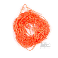 Mini Flat Fly Braid - Fl Orange