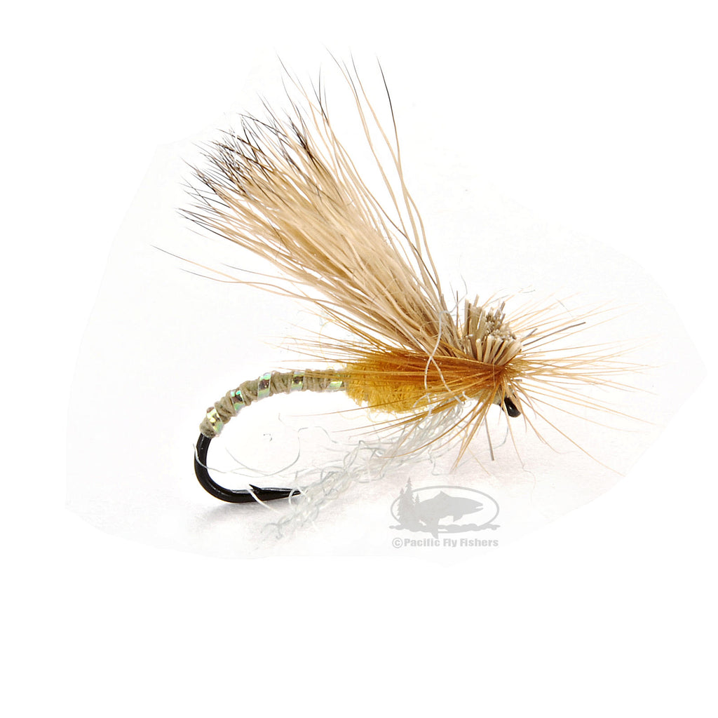 Missing Link Caddis - Amber - Dry - Fly Fishing Flies