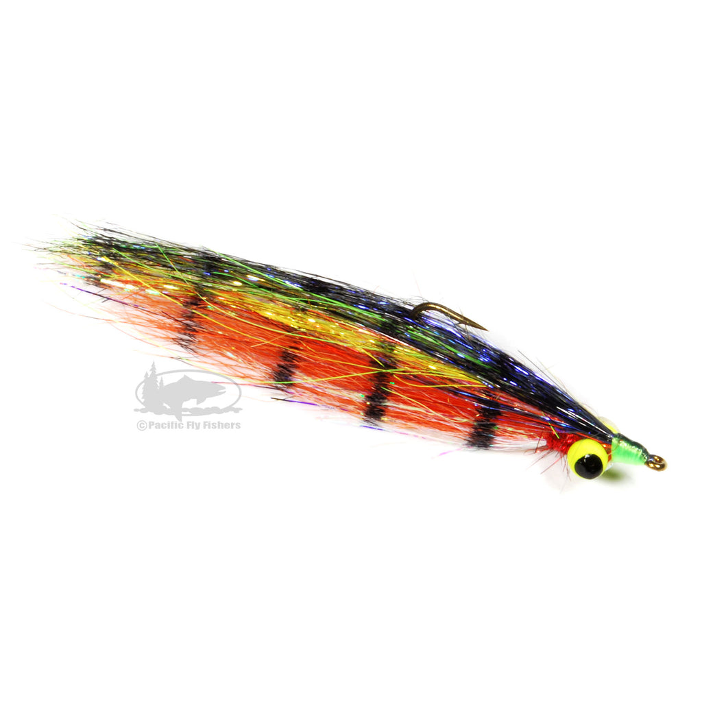 Mojo Minnow - Fire Tiger - Streamer Fly