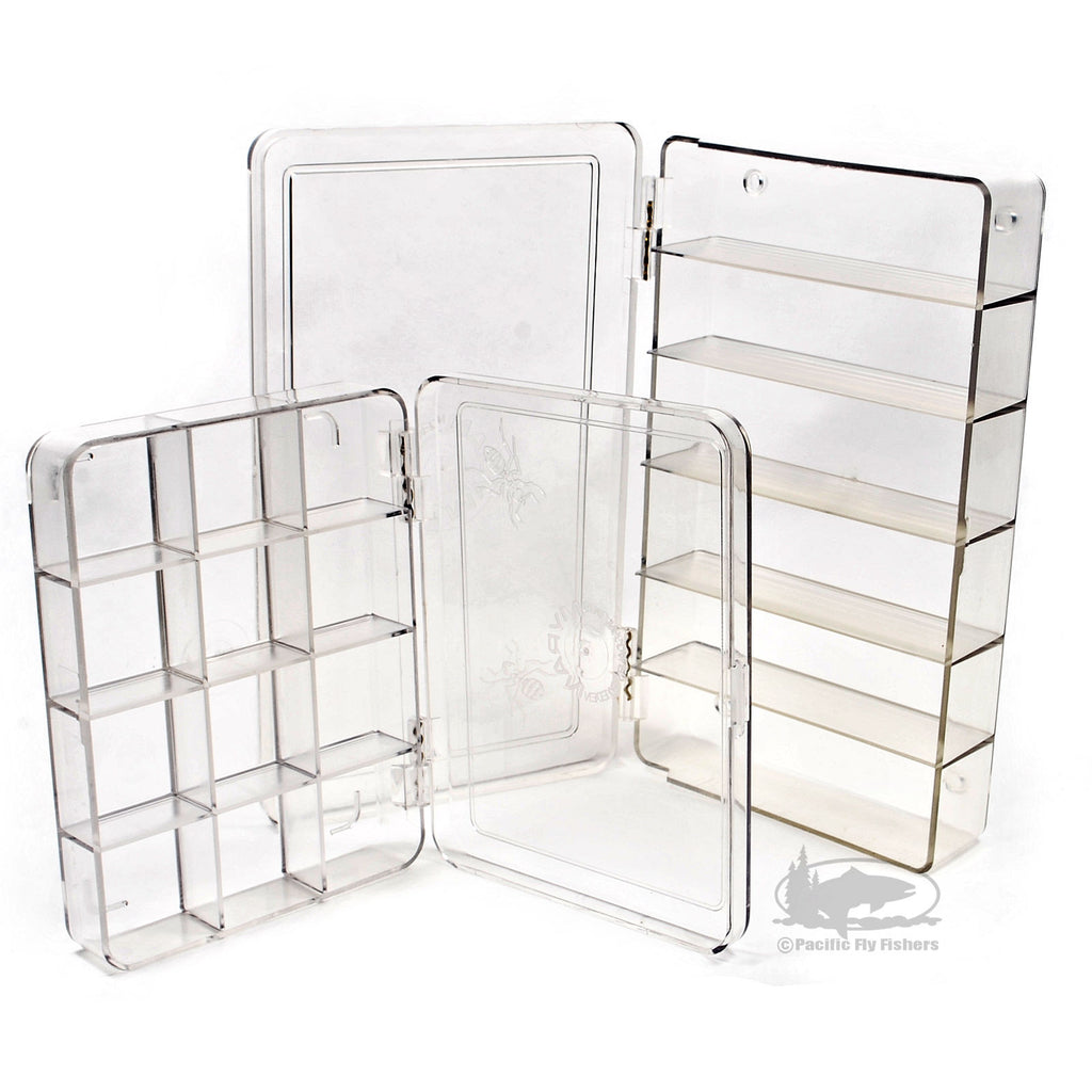 Myran Clear Compartment Fly Boxes