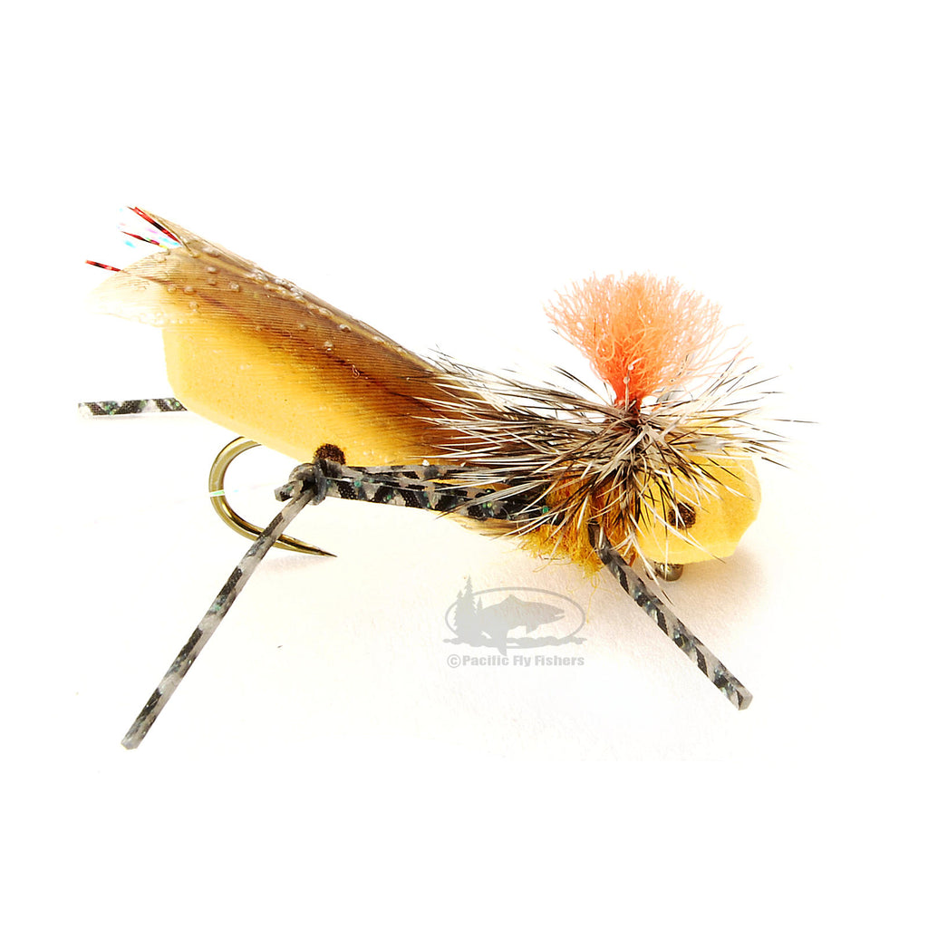 Parachute Frankenhopper - Grasshopper Hoppers - Terrestrials - Fly Fishing Flies