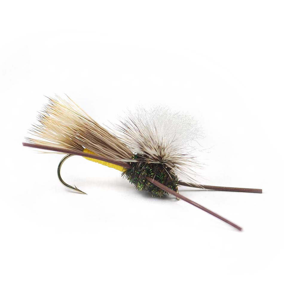 Parachute Madam X - Yellow - Fly Fishing Dry Flies