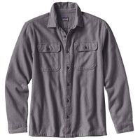 Patagonia Fjord Flannel Shirt Clearance Sale - Forge Grey
