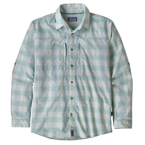 Patagonia Sun Stretch Shirt - Haven - Atoll Blue