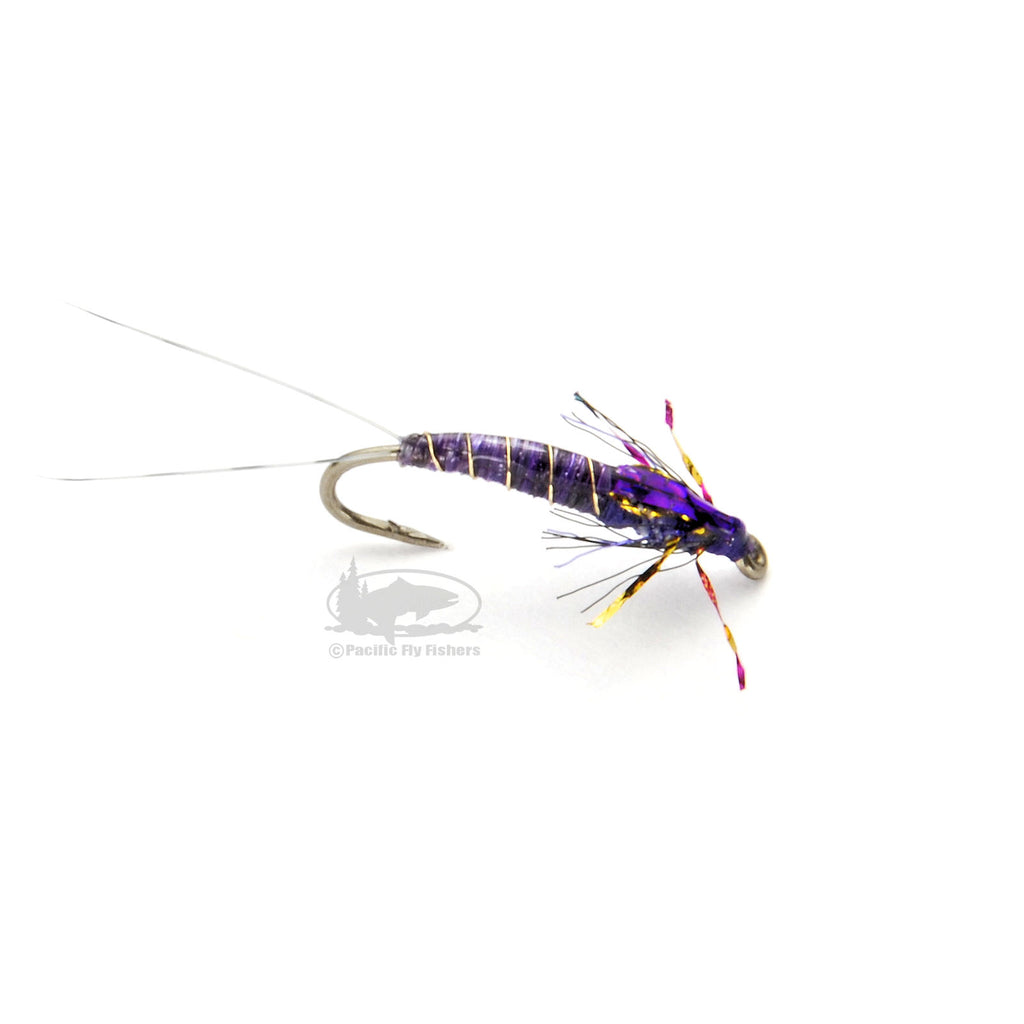 Pennington's Baetis - Purple - Mayfly Nymphs - Fly Fishing Flies