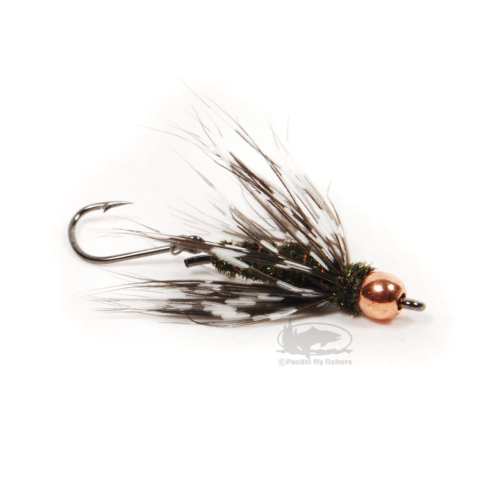 Perpetrator - Black & Copper - Steelhead Fly