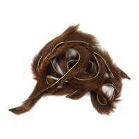 Pine Squirrel Zonker Strips - Brown