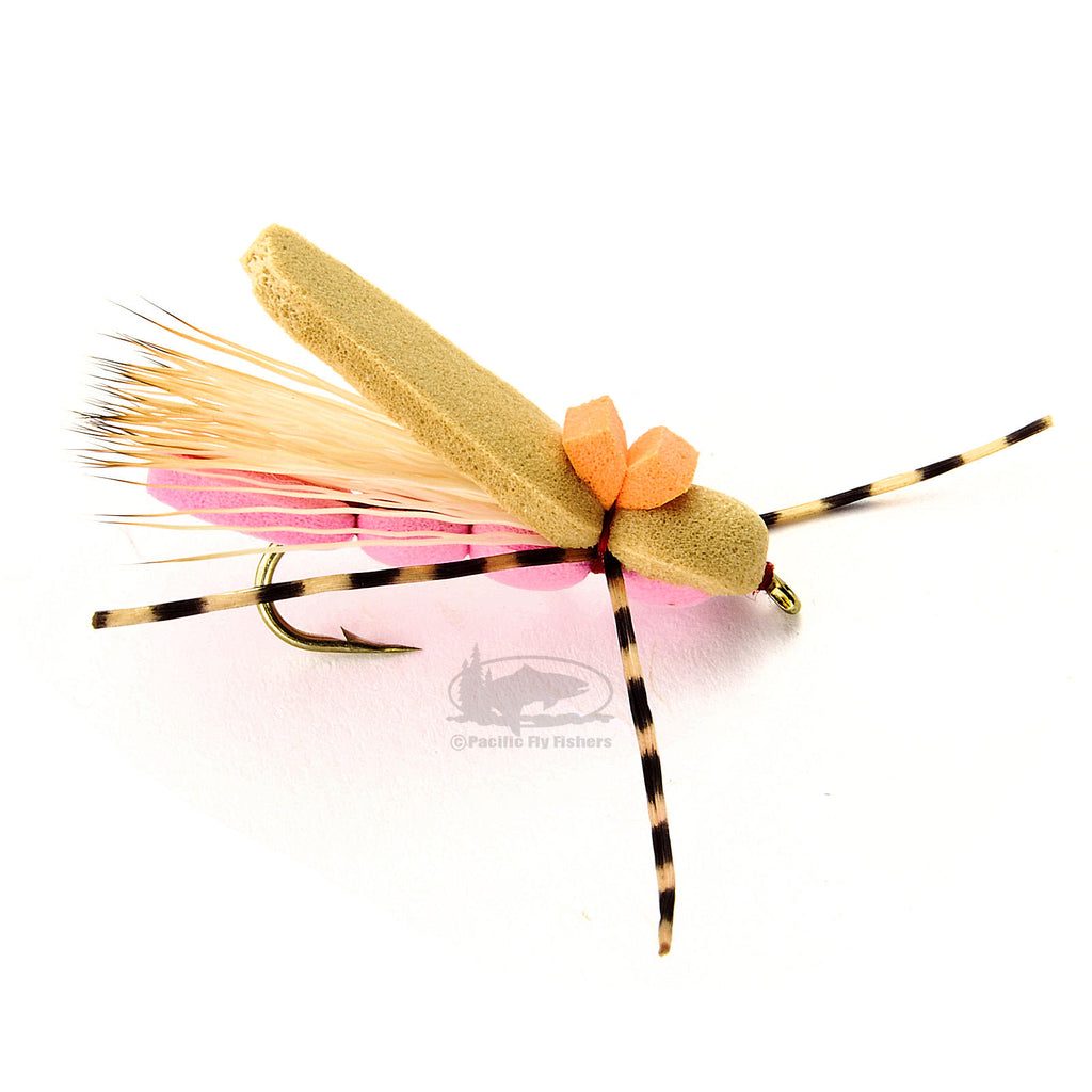Reiner's Pink Pookie - Hoppers Terrestrials - Dry - Fly Fishing Flies