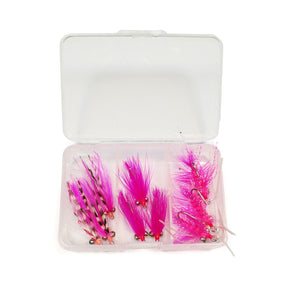 Pink Salmon Fly Assortment - Small