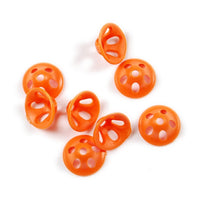 Pro Sportfisher Tube Fly System - Pro Soft Sonic Discs - Fluorescent Orange
