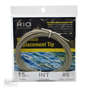 RIO 15ft InTouch Replacement Tips - Intermediate - 6wt