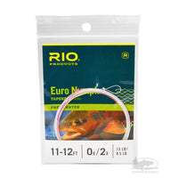 RIO Euro Nymph Leader -  Pink & Yellow - European Nymphing Leaders