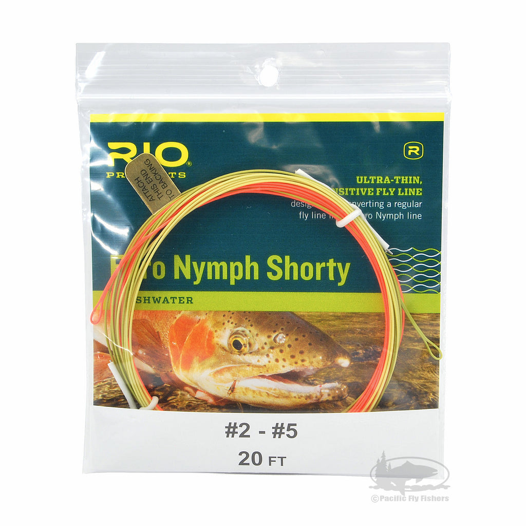 RIO Euro Nymph Shorty Fly Line - European Nymphing Fly Fishing Line