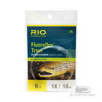 RIO Fluoroflex Trout Leaders 9ft -  1X