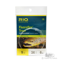 RIO Fluoroflex Trout Leaders 9ft -  3X