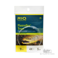 RIO Fluoroflex Trout Leaders 9ft -  4X
