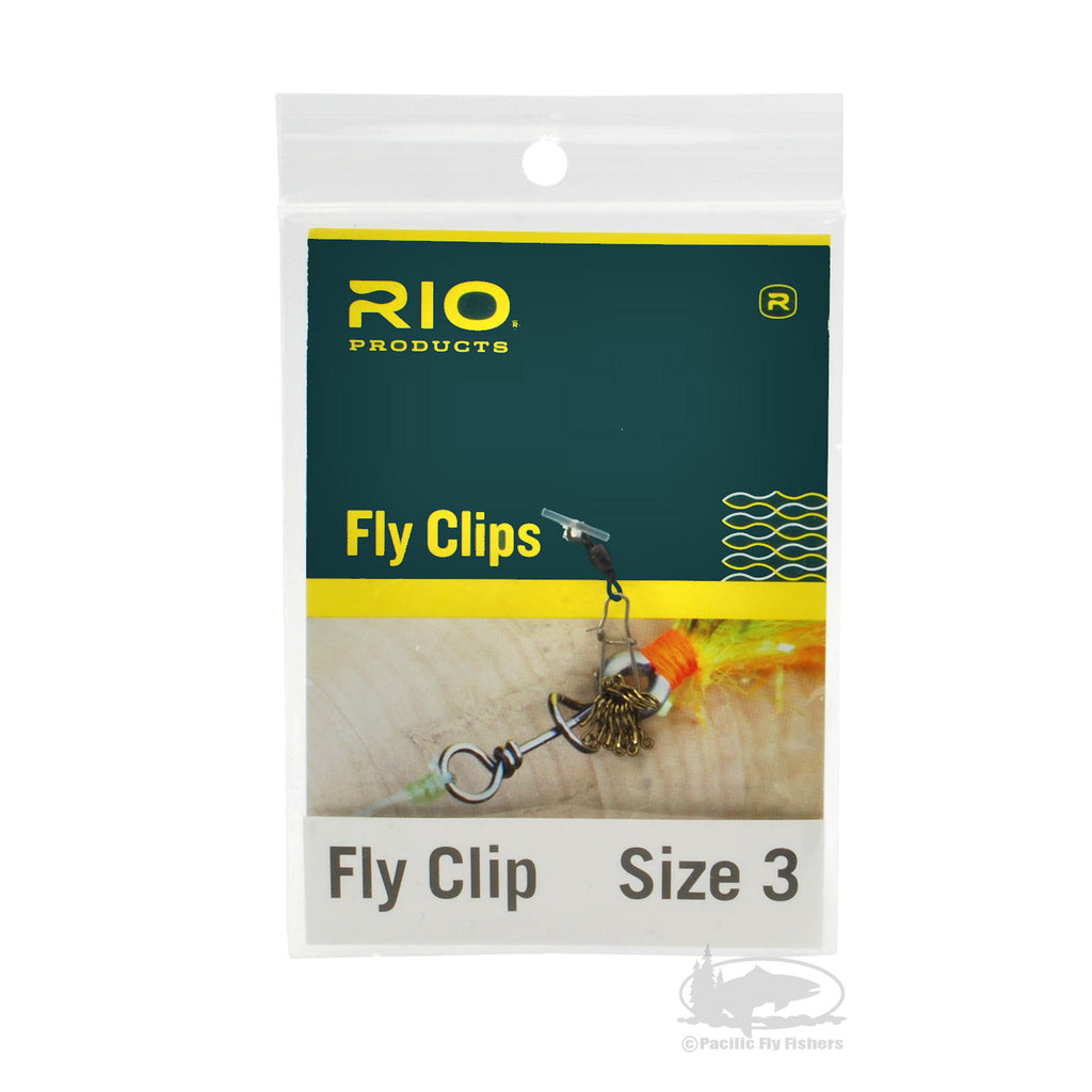 RIO Fly Clips - Attaching Flies to Leader and Tippet Without Knots - Fly Fishing Accessories