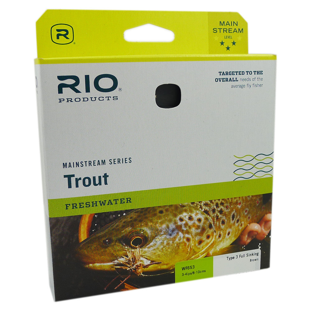 RIO Mainstream Type 3 Full Sink - Pacific Fly Fishers