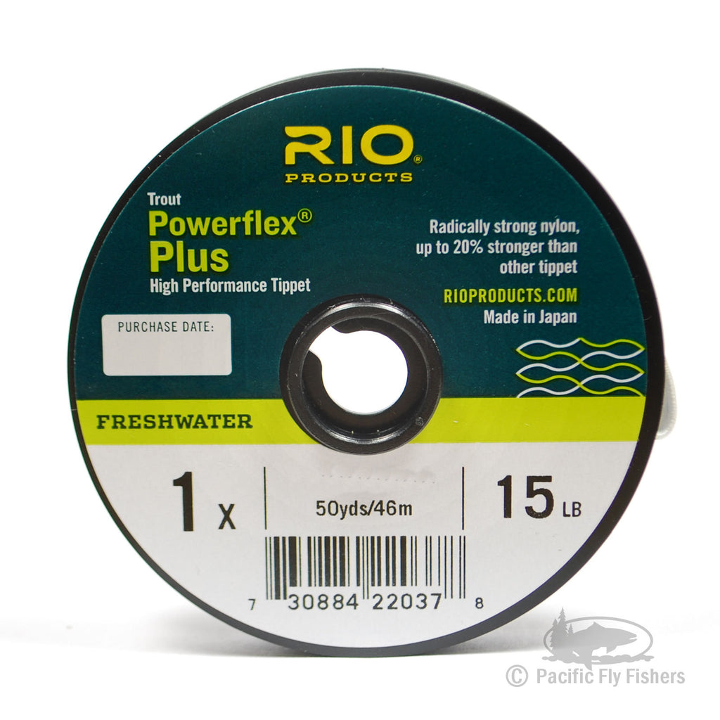 RIO Powerflex Plus Tippet - 1X