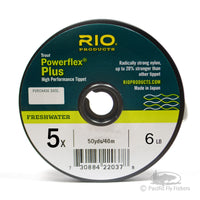 RIO Powerflex Plus Tippet - 5X