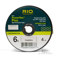 RIO Powerflex Plus Tippet - 6X