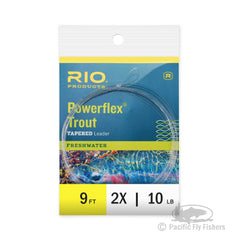 RIO 9ft Powerflex Trout Leaders