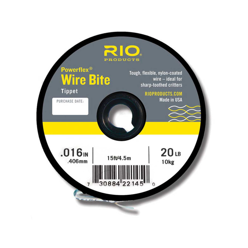 RIO Tippet Powerflex Wire Bite - 20 lb