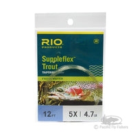 RIO 12ft Suppleflex Trout Leader - 5X