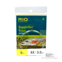 RIO 9ft Suppleflex Trout Leader - 6X