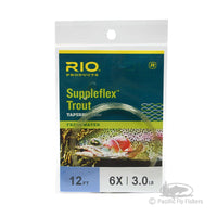 RIO 12ft Suppleflex Trout Leader - 6X