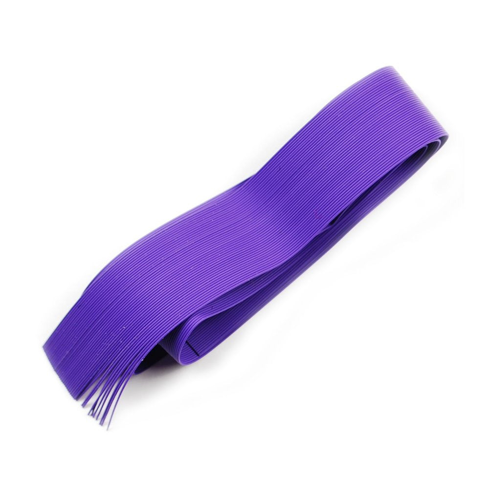 Fine Round Rubber Legs - Purple