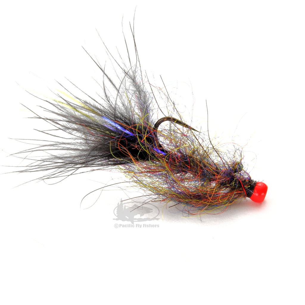 Phil Rowley's Balanced Leech - Black - Stillwater Lake Fly Fishing Flies