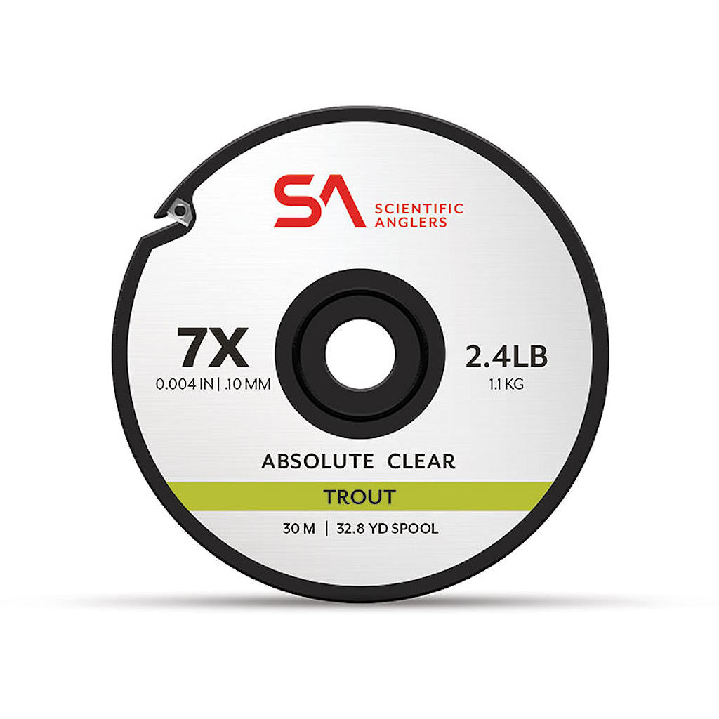 Scientific Anglers Absolute Trout Tippet - Clear