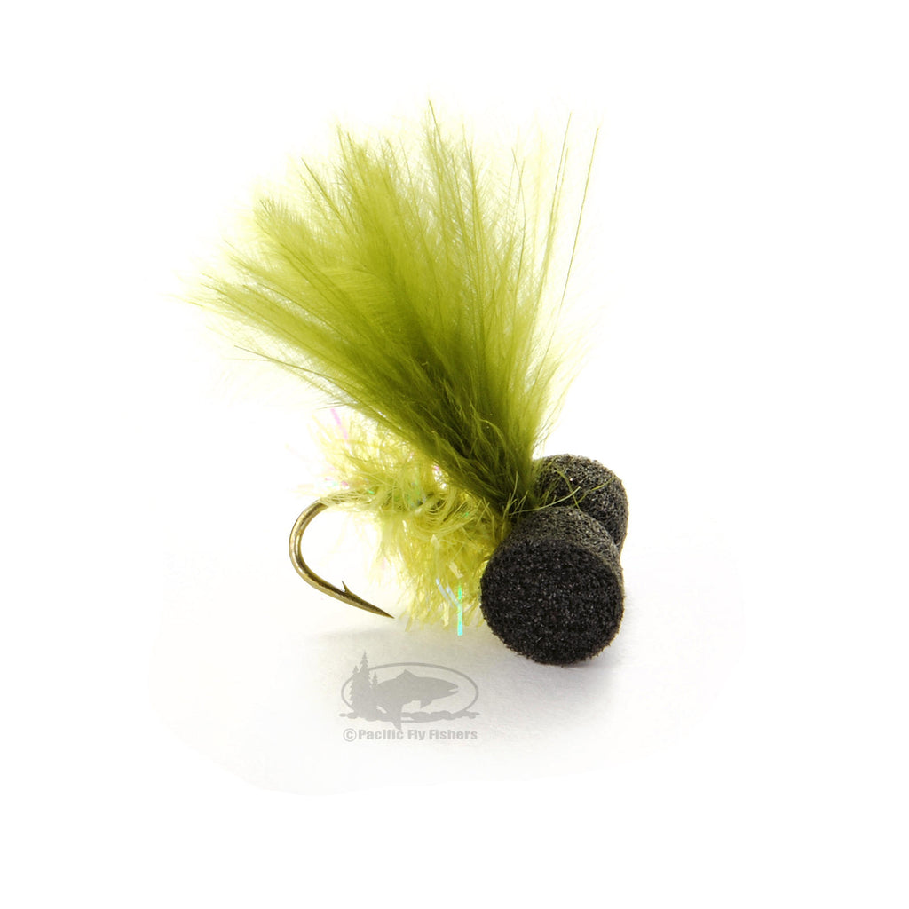Sexton's Booby Fly - Olive - Fly Fishing Flies