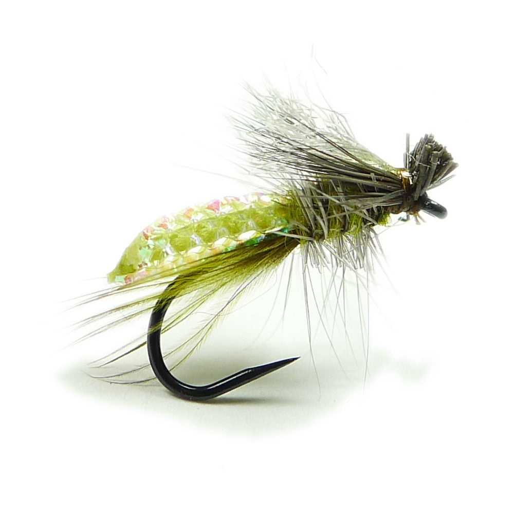 Silvey's Visible Caddis - Olive