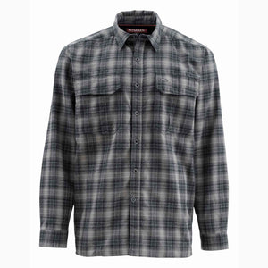 Simms ColdWeather Shirt - Black Plaid Clearance Sale