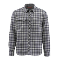 Simms Guide Flannel Shirt - Steel Plaid