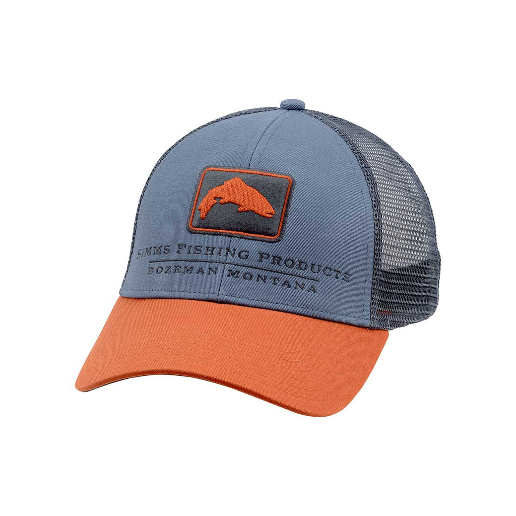 8222adc008c Simms - Trout Trucker Hat - Storm