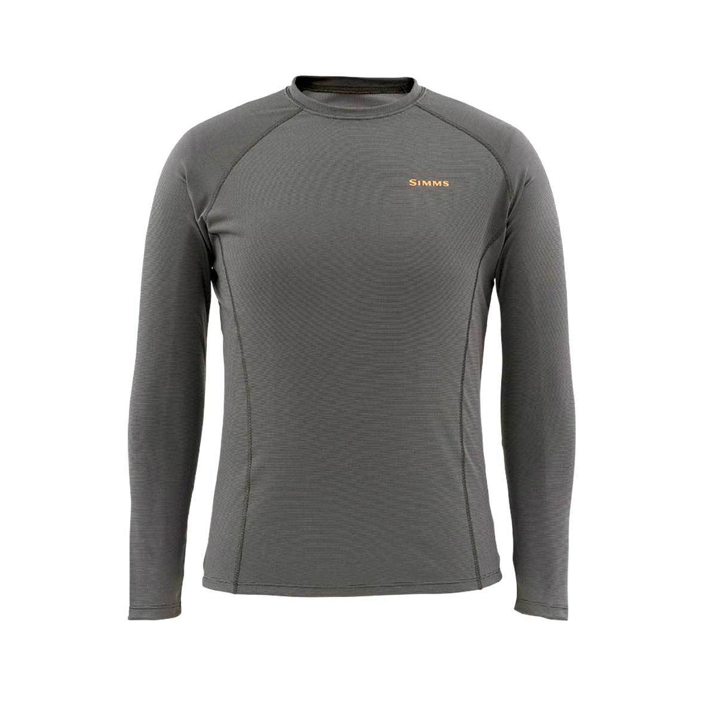 Simms WaderWick Core Crewneck - Clearance Sale - Coal