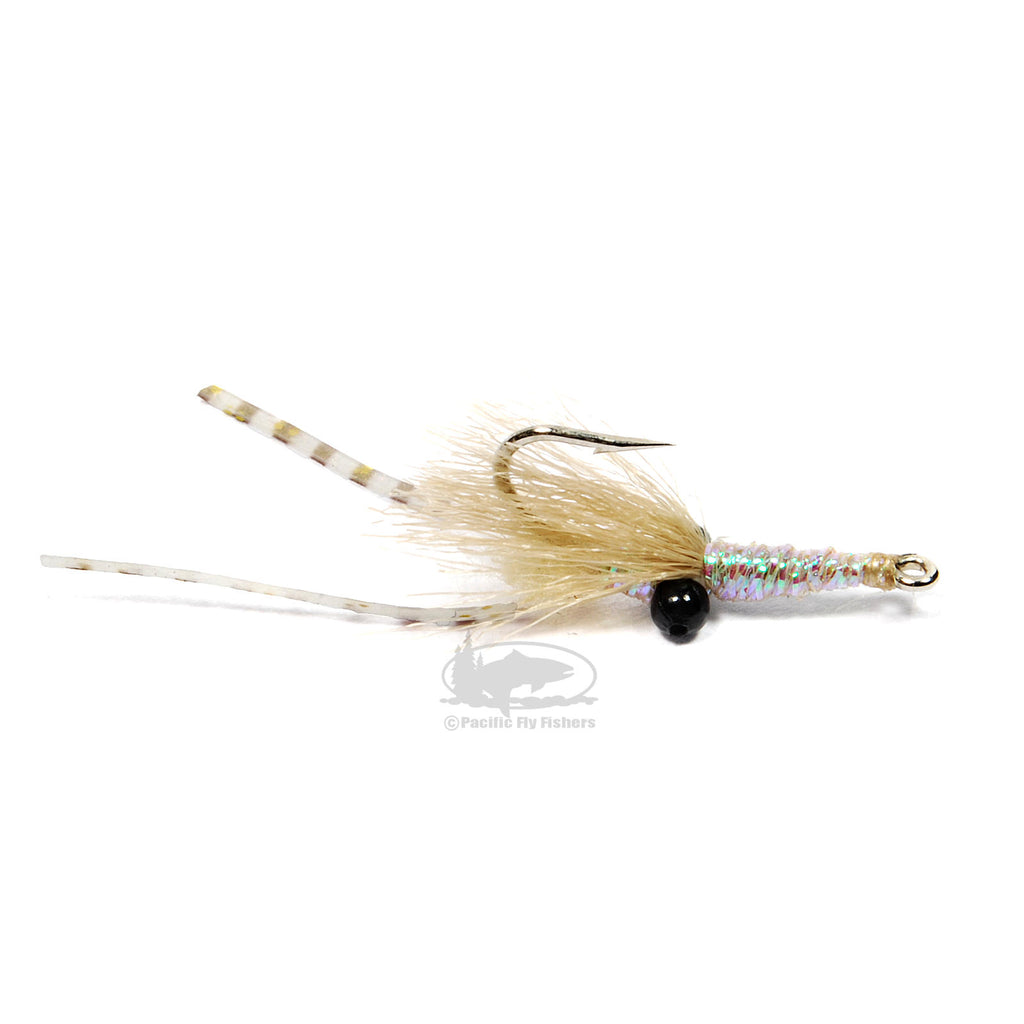 Skinny Mini Shrimp - Olive and Tan - Bonefish Fly
