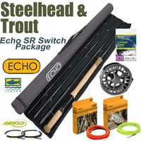 Echo SR Switch Rod & Reel Packaged Outfit - Switch Spey Two-Handed - Fly Fishing Packages