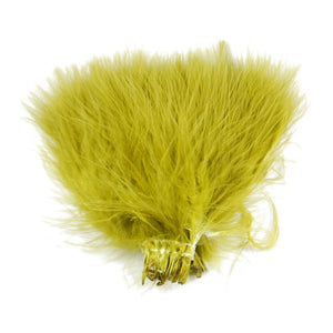 Strung Blood Quill Marabou - Olive