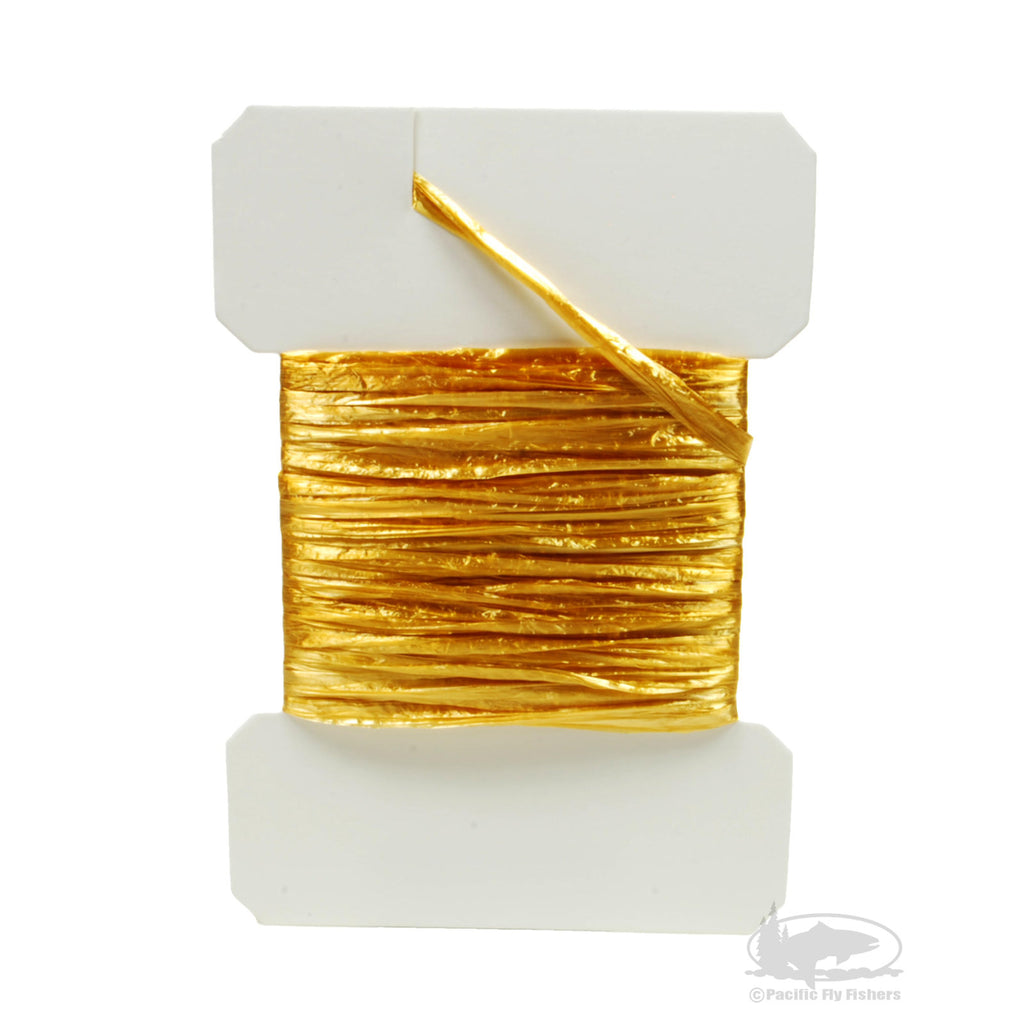 Swiss Straw - Amber - Fly Tying Materials