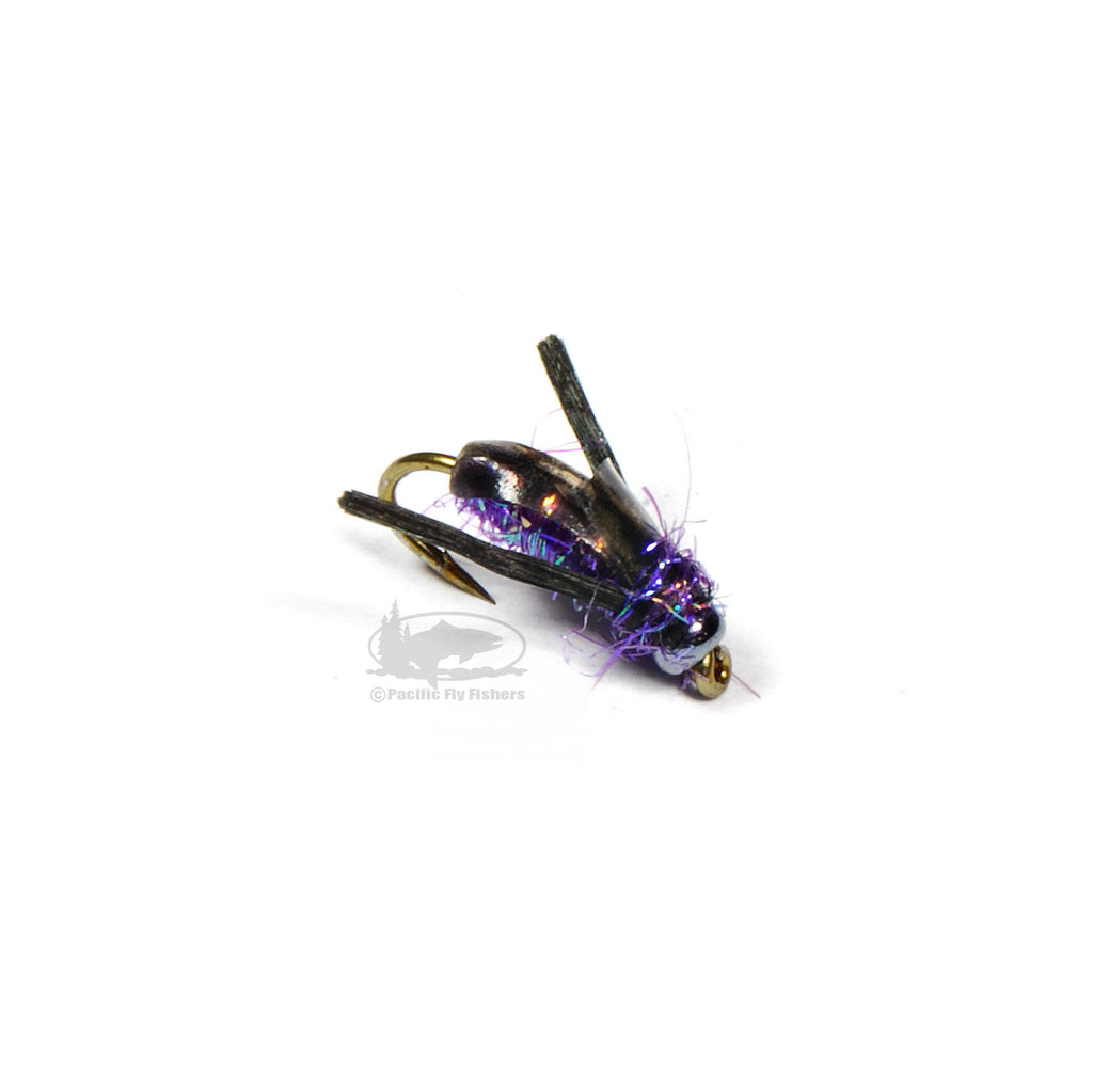 Tim's Boatman - Purple - Water Boatman - Fly