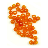 Trout Beads: 8mm - Caramel Roe