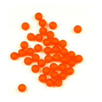 Trout Beads: 8mm - Dark Roe