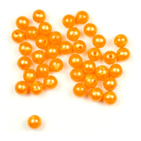 Trout Beads: 8mm - Orange Pearl
